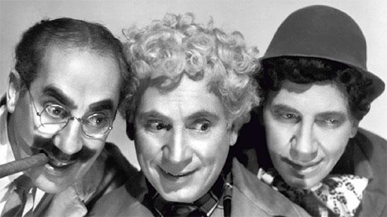 Les Marx Brothers dans Une nuit à Casablanca