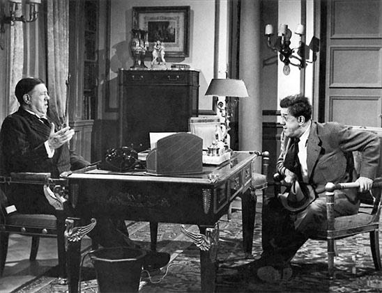 Michel Simon dans La vie d'un honnête homme (1953) de Sacha Guitry