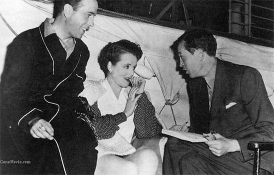 Photo de tournage de Griffes Jaunes 1942