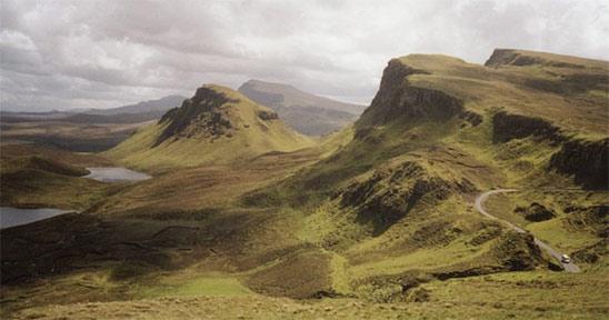 Le Quiraing sur l'île de Skye