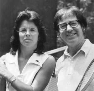 Billy Jean King et Bobby Riggs