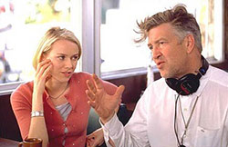 David Lynch et Naomi Watts