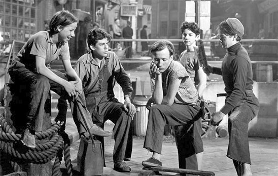Les Dead End Kids dans Dead End de William Wyler