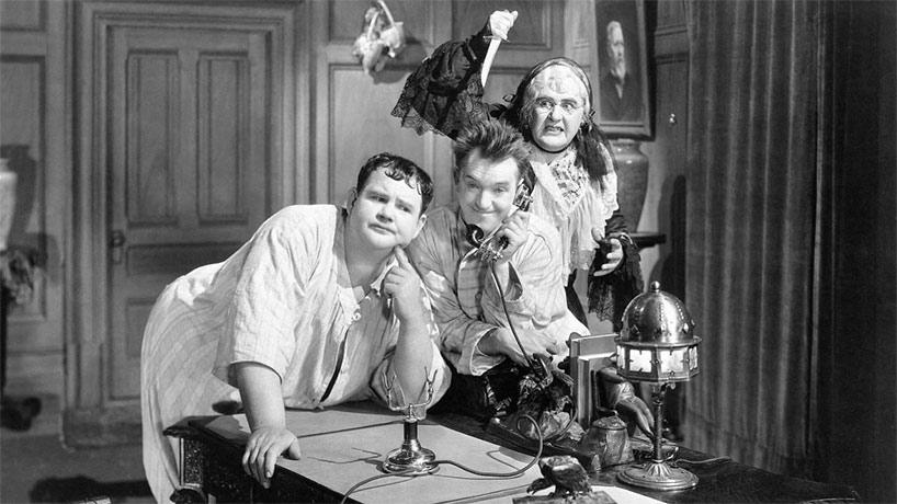 La Maison de la peur (The Laurel-Hardy Murder Case)