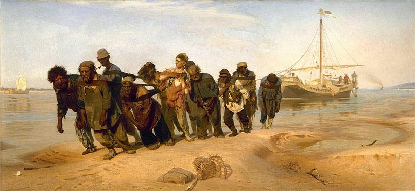 Les Bateliers de la Volga